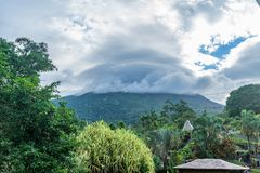 Arenal απόψεις ηφαιστείων γύρω από τη Κόστα Ρίκα Στοκ εικόνα με δικαίωμα ελεύθερης χρήσης