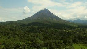 Arenal ηφαίστειο, Κόστα Ρίκα απόθεμα βίντεο