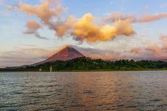 Arenal ηφαίστειο Κόστα Ρίκα Στοκ Εικόνες