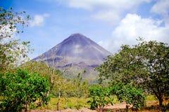 Arenal ηφαίστειο Κόστα Ρίκα Στοκ Φωτογραφίες