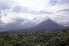 Arenal ηφαίστειο στην Κόστα Ρίκα Στοκ εικόνες με δικαίωμα ελεύθερης χρήσης