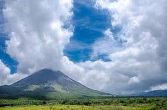 Arenal ηφαίστειο στη Κόστα Ρίκα Στοκ φωτογραφίες με δικαίωμα ελεύθερης χρήσης
