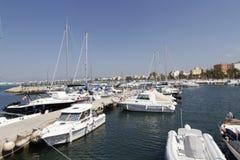 Arenal παραλία στη Μαγιόρκα, Ισπανία Στοκ εικόνες με δικαίωμα ελεύθερης χρήσης