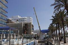 Arenal παραλία στη Μαγιόρκα, Ισπανία Στοκ φωτογραφίες με δικαίωμα ελεύθερης χρήσης