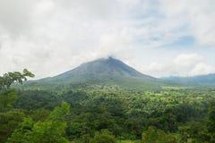 Arenal τοπίο Κόστα Ρίκα ηφαιστείων Στοκ εικόνες με δικαίωμα ελεύθερης χρήσης