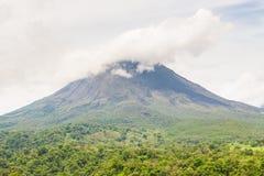 Arenal τοπίο Κόστα Ρίκα ηφαιστείων Στοκ εικόνα με δικαίωμα ελεύθερης χρήσης