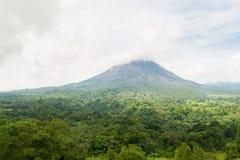 Arenal τοπίο Κόστα Ρίκα ηφαιστείων Στοκ φωτογραφία με δικαίωμα ελεύθερης χρήσης