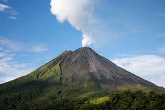 arenal Costa Rica vulkan Royaltyfri Fotografi