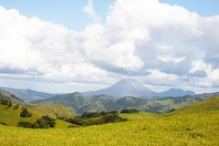 arenal Costa Rica vulkan Arkivfoto
