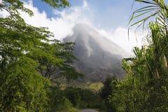 arenal Costa Rica vulkan Arkivbild