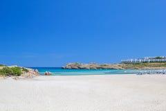 Arenal de Son Saura παραλία στο νησί Menorca Στοκ φωτογραφίες με δικαίωμα ελεύθερης χρήσης