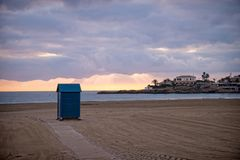 Arenal Javea παραλία Στοκ φωτογραφία με δικαίωμα ελεύθερης χρήσης