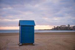 Arenal Javea παραλία Στοκ φωτογραφίες με δικαίωμα ελεύθερης χρήσης