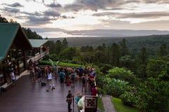 Arenal lake at sunset Royalty Free Stock Image