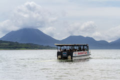 Arenal Lake tours, Costa Rica Royalty Free Stock Photography