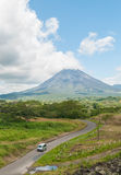 Arenal mountain Royalty Free Stock Photo