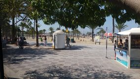 Arenal Playa κοντά σε Palma Στοκ φωτογραφίες με δικαίωμα ελεύθερης χρήσης
