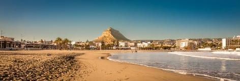 Arenal strand Arkivfoto