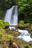 Arenal Tropical Waterfall Stock Photography