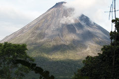Arenal volcano. Costa Rica Stock Image