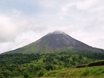 Arenal Volcano in Costa Rica Royalty Free Stock Photos