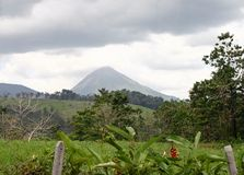 Arenal Volcano in Costa Rica Royalty Free Stock Photo