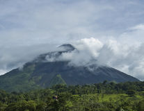 Arenal Volcano in Costa Rica. Royalty Free Stock Image