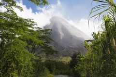 Arenal volcano (Costa Rica) Stock Photography