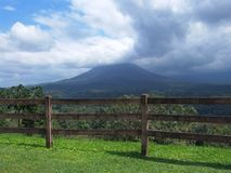 Arenal Volcano in Costa Rica Stock Image