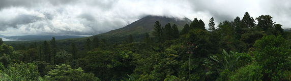 Arenal Volcano Costa Rica Imagen de archivo libre de regalías