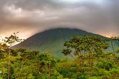 Arenal Volcano Costa Rica Stockfotos