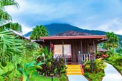 Arenal Volcano Costa Rica Lizenzfreie Stockfotografie
