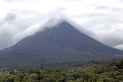 Arenal Volcano in Costa-Rica Royalty Free Stock Photo