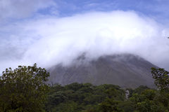 Arenal Volcano in Costa-Rica Royalty Free Stock Images