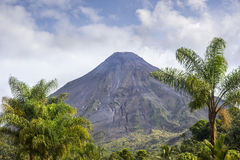 Arenal Volcano from Costa Rica Royalty Free Stock Photo