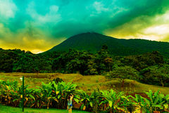 Arenal Volcano Costa Rica Royalty Free Stock Images
