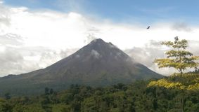 Arenal Volcano, Costa Rica stock photo