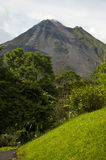 Arenal Volcano in Costa Rica Stock Images