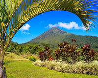 Arenal Volcano Landscape Royalty Free Stock Photos