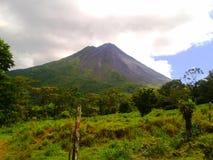 Arenal Volcano National Park royaltyfria foton