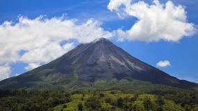 Arenal Volcano Panorama Royalty Free Stock Images