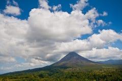 Arenal Vulkaan stock afbeelding