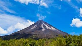 arenal vulkan Arkivfoton