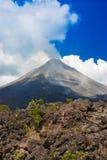 Arenal-Vulkan Stockfoto