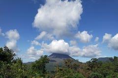 arenal vulkan Royaltyfri Bild