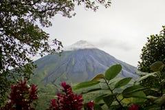 Arenal-Vulkan, Costa Rica lizenzfreie stockbilder