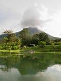 Arenal-Vulkan in Costa Rica Stockbilder