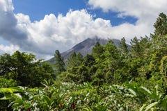Arenal-Vulkan in Costa Rica stockfoto