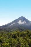 Arenal vulkan, lopp till Costa Rica Arkivbild