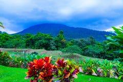 Arenal wulkan Costa Rica zdjęcia stock